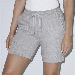 American Apparel Unisex Fleece Gym Shorts XXL